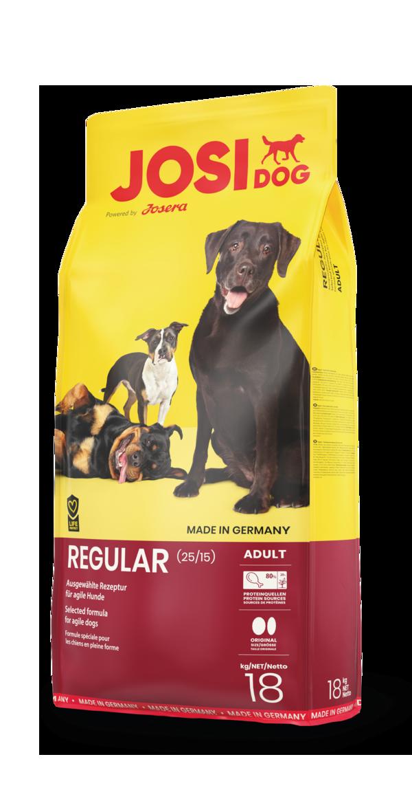 Сухий корм для дорослих собак JosiDog Regular 18 кг