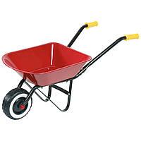 Садовая тележка, 1 колесо, красная, Goki (14059G)