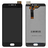 Дисплей (экран) для телефона Meizu M6 M711, M711H, M711M, M711Q + Touchscreen with frame Original Black