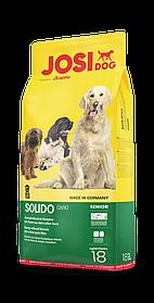 Сухой корм для пожилых и малоактивных собак JosiDog Solido 18 кг