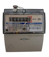 Счетчик измерения и учета электроэнергии однофазный ЦЭ6807Б-U К 1 220В 5-60А М6Р5 на DIN-рейку.