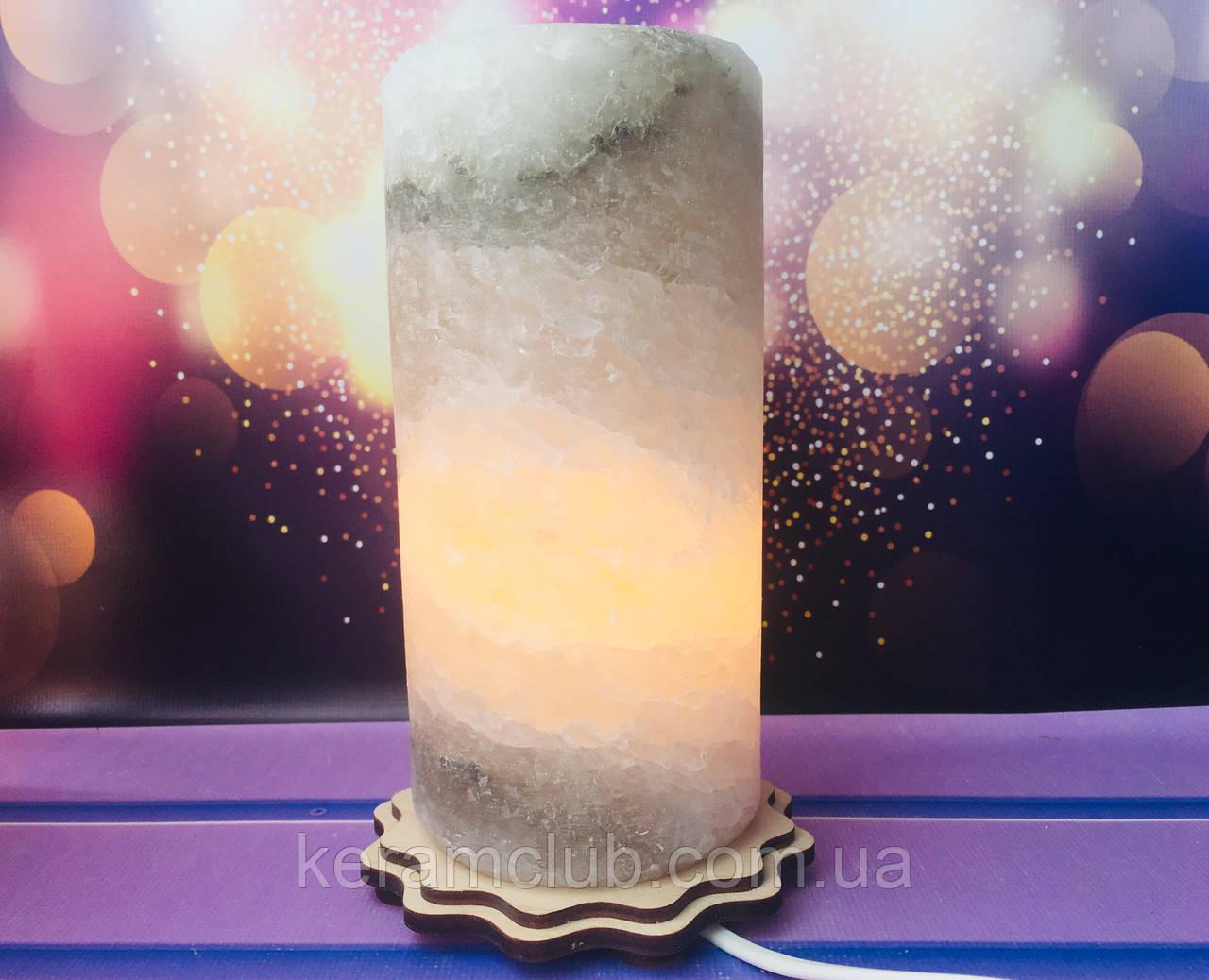 Соляная лампа Цилиндр d 10 см h 18 см