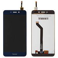 Дисплей (экран) для телефона Huawei Honor 6C Pro (JMM-L22, ver 2), Honor V9 Play + Touchscreen Blue