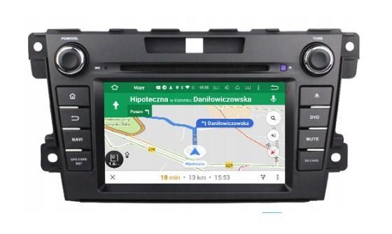 Штатная магнитола 2DIN Android 9 для Mazda CX-7 Wi-fi 16Gb/2Gb