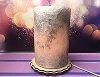 Соляная лампа Цилиндр большой 18*12 см, фото 1