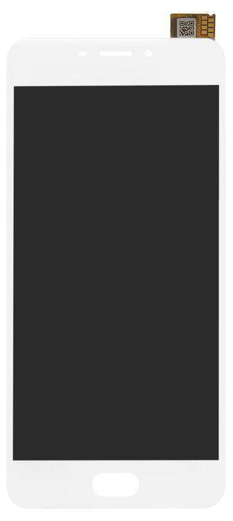 Дисплей (экран) для телефона Meizu M6 M711, M711H, M711M, M711Q + Touchscreen with frame (copy) White