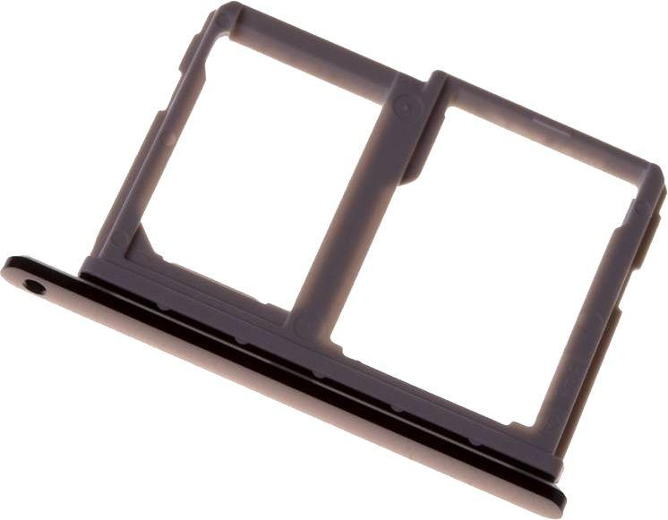 Держатель (лоток) SIM-карты Lg M700N Q6 Black
