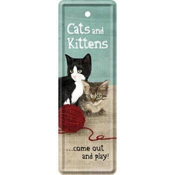 Закладка Nostalgic-Art Cats and Kittens (45016)