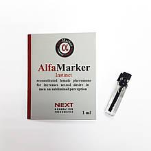 Высококонцентрированный парфюм c феромонами Alfamarker Instinct для женщиин 1 мл