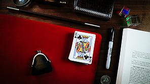 Реквизит для фокусов | Suede Leather Small Pad (Red) by TCC, фото 3
