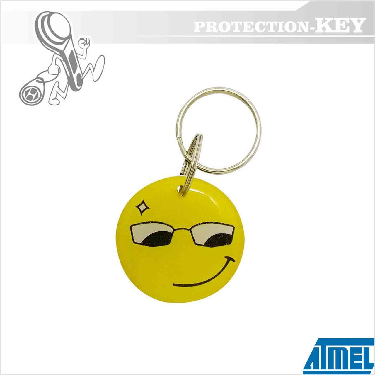 Epoxy-заготовка T5577 Smile Ø25 для корпирования домофонных ключей и оригинальных RFID