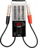 Цифровой тестер аккумуляторов Yato YT-8311