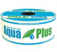 Капельная лента Aqua Plus 8mil 20см (1000м)