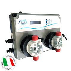 Станция дозирования для бассейна AquaViva PH/RX+Free Cl 5л/ч