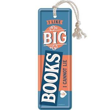 Закладка Nostalgic-Art I Like Big Books (45047)