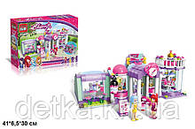 Конструктор для дівчинки Qman 2006 салон краси 487 деталей