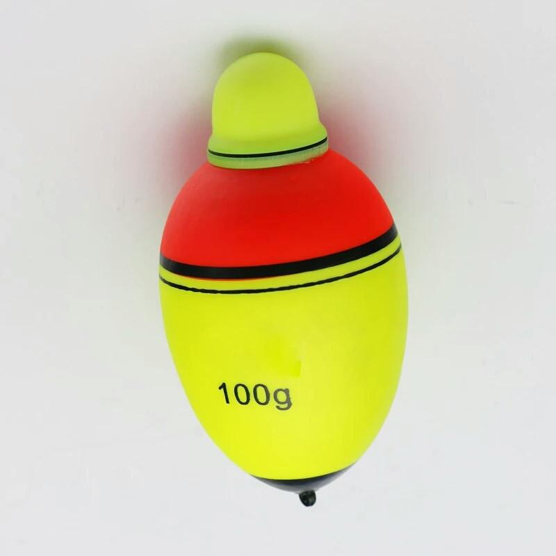 Светящийся поплавок для ночной рыбалки, (толстолобик,сом, щука)отгрузка 100г