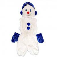 Маскарадный костюм меховой Снеговик (размер S)