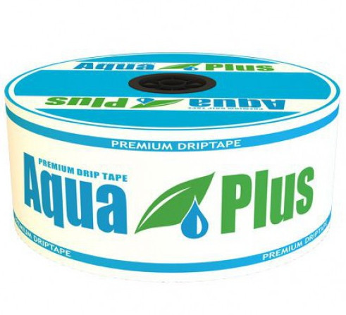 Капельная лента Aqua Plus 8mil 30см (500м)