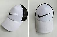 Кепка Бейсболка Nike Бело - Черная