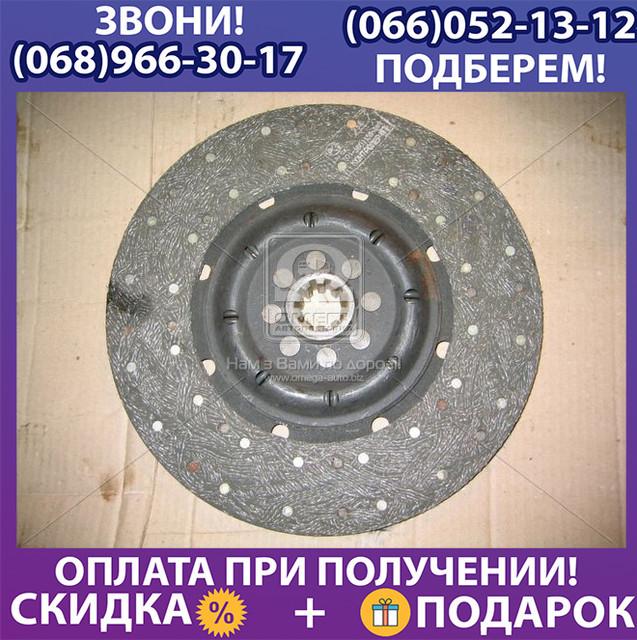 Диск сцепления ведомый ГАЗ 3309,4301,33104 ВАЛДАЙ (пр-во ГАЗ) (арт. 4301-1601130-01)