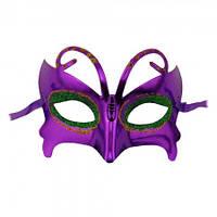Венецианская маска Бабочка (серебро)