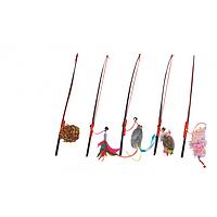 Karlie Flamingo Rod Assortment удочка дразнилка игрушка для котов