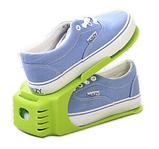 Двойная подставка для обуви регулируемая Shoe Slotz (разные цвета), фото 5