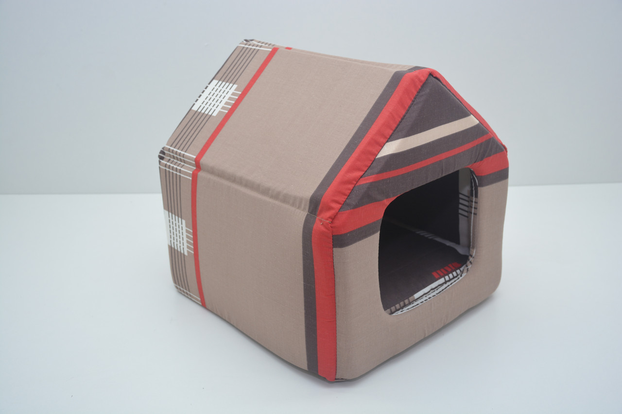Домик для собак и котов бязь 260*270*270