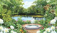 Фотообои Озеро Богатства  размер 196х350 см (20 листов)