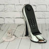 Телефон Туфелька серебро