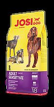 Сухой корм для собак с чувствительным пищеварением Josera JosiDog Adult Sensitive18 кг