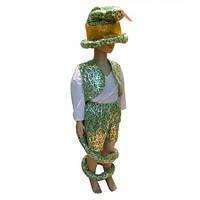Маскарадный костюм Змея зеленая (размер М)