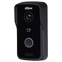 IP Відеопанель Dahua DH-VTO2111D-WP /Ціна з ПДВ/ з камерой IP 1 Mп/СMOC 1/4, 2,2 мм/Wi-Fi/підтримка карт 64 Гб/Mifair