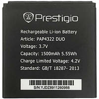 Аккумулятор Prestigio PAP4322. Батарея Prestigio PAP4322 (1500 mAh) для 4322 DUO. Original АКБ (новая)