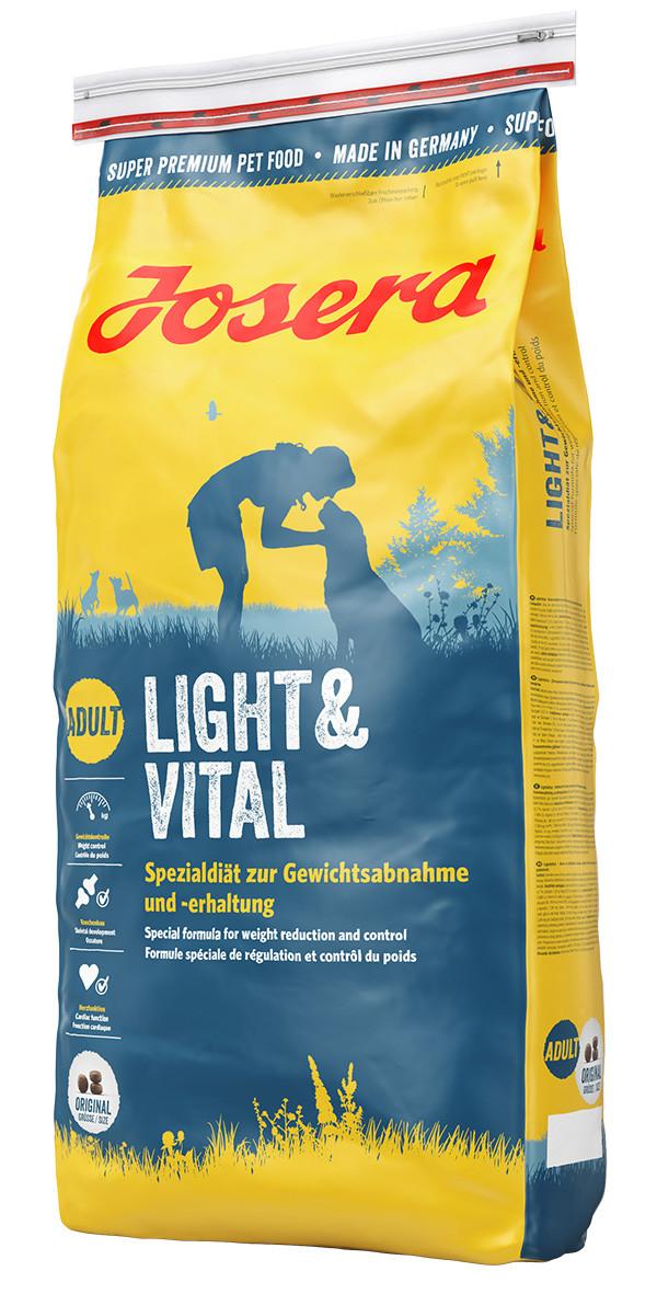 Сухой корм для собак с избыточным весом Josera Light & Vital 15 кг