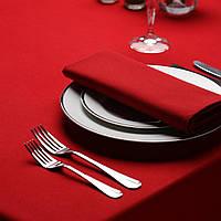 Салфетка тканевая сервировочная красная однотонная Atteks - 1503