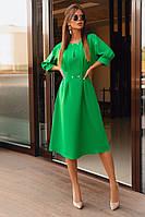 Женское платье с рукавом три четверти.Размеры:42-46.+Цвета, фото 1