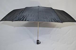 Зонт мужской полуавтомат с куполом 100 см Susino черный, 8 спиц (3533), фото 2