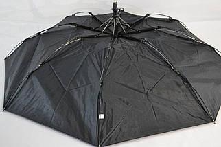 Зонт мужской полуавтомат с куполом 100 см Susino черный, 8 спиц (3533), фото 3