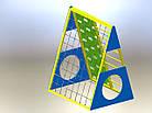 Спортивно -ігровий та гімнастичний комплекс Піраміда, фото 4