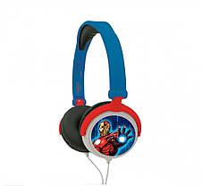 Наушники Lexibook Marvel The Avengers Голубой LT9956, фото 2