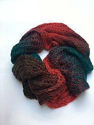 Шарф-хомут цветной вязаный зима-осень Lafeny