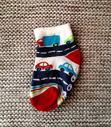 Носочки детские с тормозками  (Турция)  размер 6 8 месяцев, фото 2