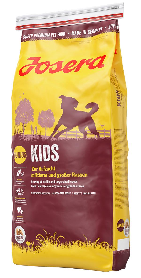 Сухой корм для щенков и юниоров Josera Kids 15 кг