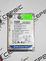 Жорсткий диск Western Digital Scorpio Blue 250GB 5400rpm 8MB WD2500BEVT 2.5 SATA II