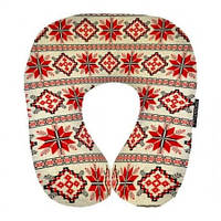 Подушка для путешествий Этно (красная) UKR003