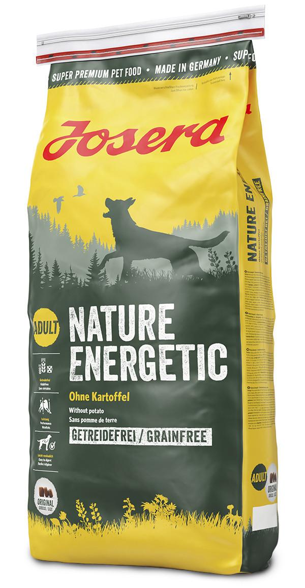 Сухой беззерновой корм для активных собак Josera Nature Energetic Adult 15 кг