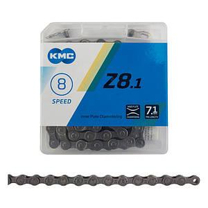 Ланцюг KMC Z8.1 7-8 швидкостей 116 ланок + замок