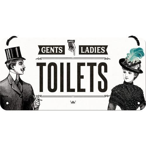 Вивіска на шнурку Ностальгічне-Art Toilet (28014)